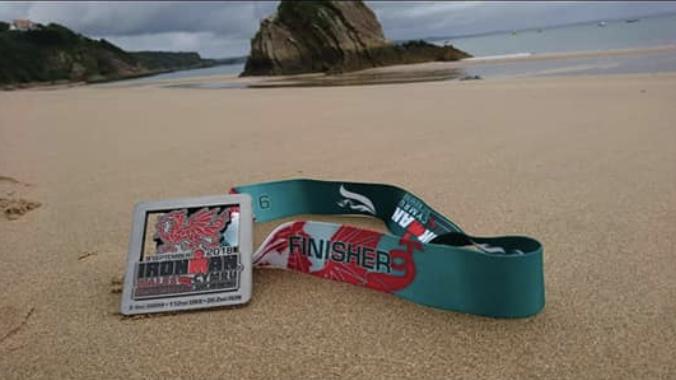 Ironman_Tenby_Medal_Beach